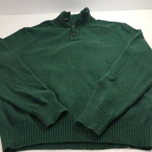 Men's Polo Ralph Lauren 3 button Collared sweater